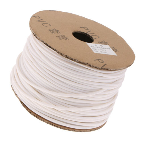 Inner Dia.2mm Wire Marking PVC Organize Tube Sleeve Cable Marker 130m