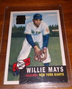 1953-Topps-Willie-Mays-Giants-Beautiful-reproduction-from-1996-Topps-Red-Auto