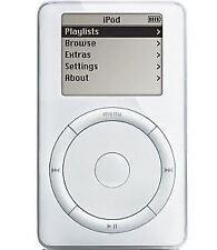 Apple iPod Classic 1st Generation White (5GB) - w/ Accessories (A)