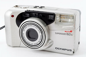 Excellent-Olympus-Superzoom-160G-Point-amp-Shoot-Camera-a-Film-de-Japon