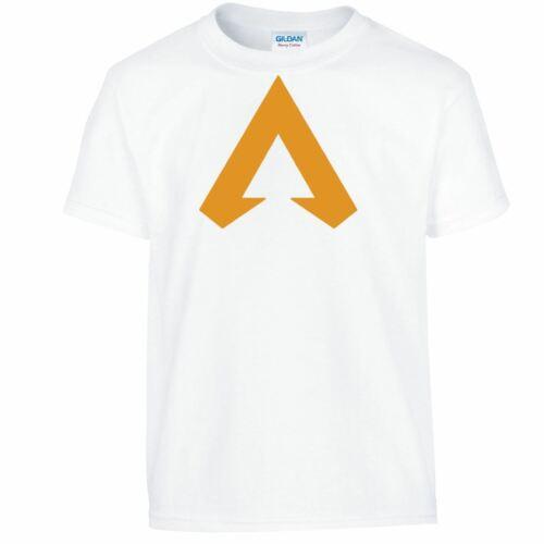Apex Legends Boys Girls Tshirt Kids Youth Cartoon Tee Tops Birthday Gift T-shirt