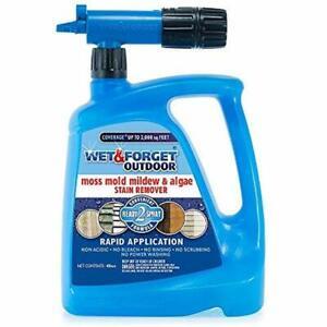 Wet Moss Control Forget 805048 Moss Mold Mildew Algae