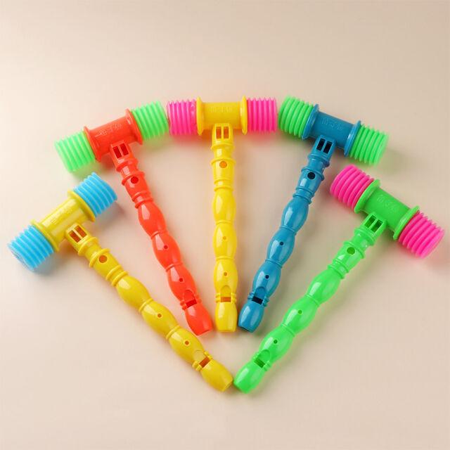 Lovely Vocal Knocking Hammer Infant Whistles Musical Instrument Kids Toys CA