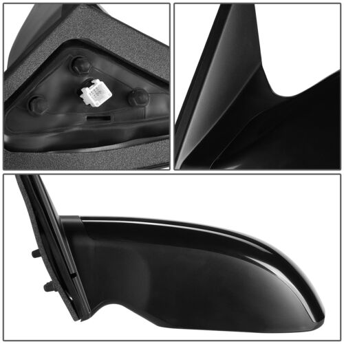 FOR 07-12 NISSAN ALTIMA SEDAN OE STYLE POWERED LEFT SIDE REAR VIEW DOOR MIRROR