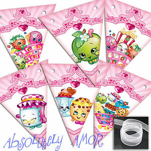 Peter Rabbit SMALL Bunting Party Decoration Birthday Banner//Garland PINK