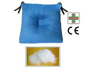 Cuscino Con Depressione Centrale Antidecubito Per Sedia In Fibra Cava Siliconata Ebay