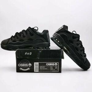 Osiris-Men-039-s-D3-2001-Skate-Shoes-UK-Size-10-11-12-Black-Gum-Green-Yellow