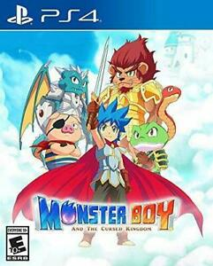 Monster Boy And The Cursed Kingdom (PlayStation 4, 2018)
