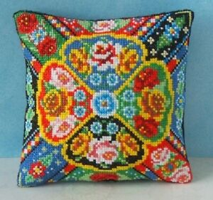 Sheena Rogers Designs Carousel Mini Cushion Cross Stitch Kit