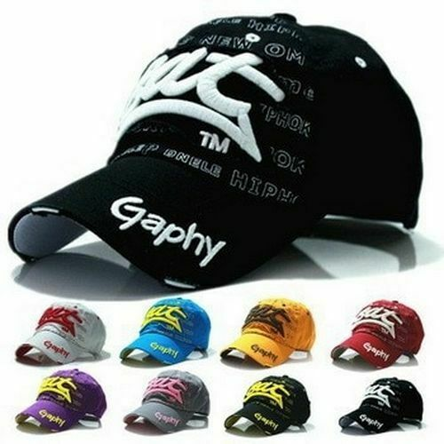 Baseball Cap Snapback Hat Men Women Summer Sun Caps Curved Brim Adjustable Hats