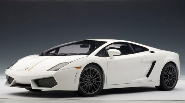 74635 Autoart 1 18 Lamborghini Gallardo Lp550 2 Balboni White For