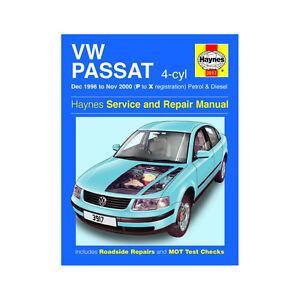 vw passat 1 6 1 8 petrol 1 9 diesel 1996 00 p to x reg haynes rh ebay ie 2002 Volkswagen Passat 2001 Volkswagen Passat