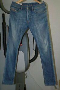 Mens-Diesel-Tepphar-Wash-0807S-Stretch-slim-skinny-carrot-jean