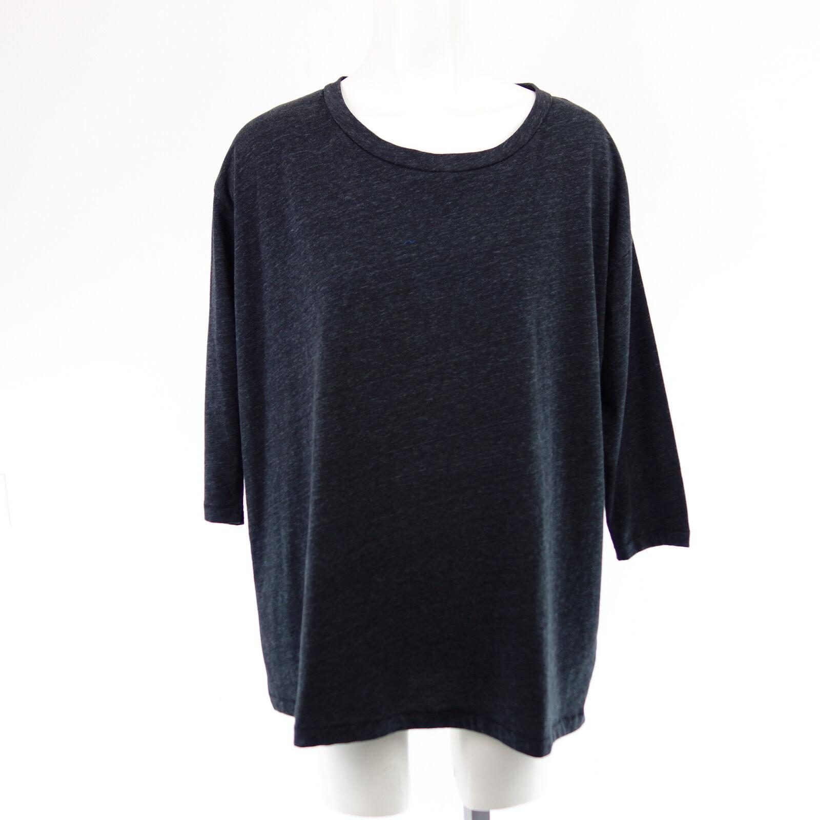 Iheart Donna Shirt Penelope S 36 Nero Girocollo Cotone Poliestere NP 89 NUOVO
