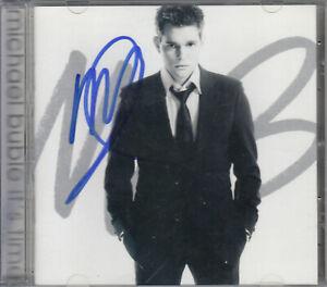 Michael Buble Autograph Signed 8 x 10 Photo