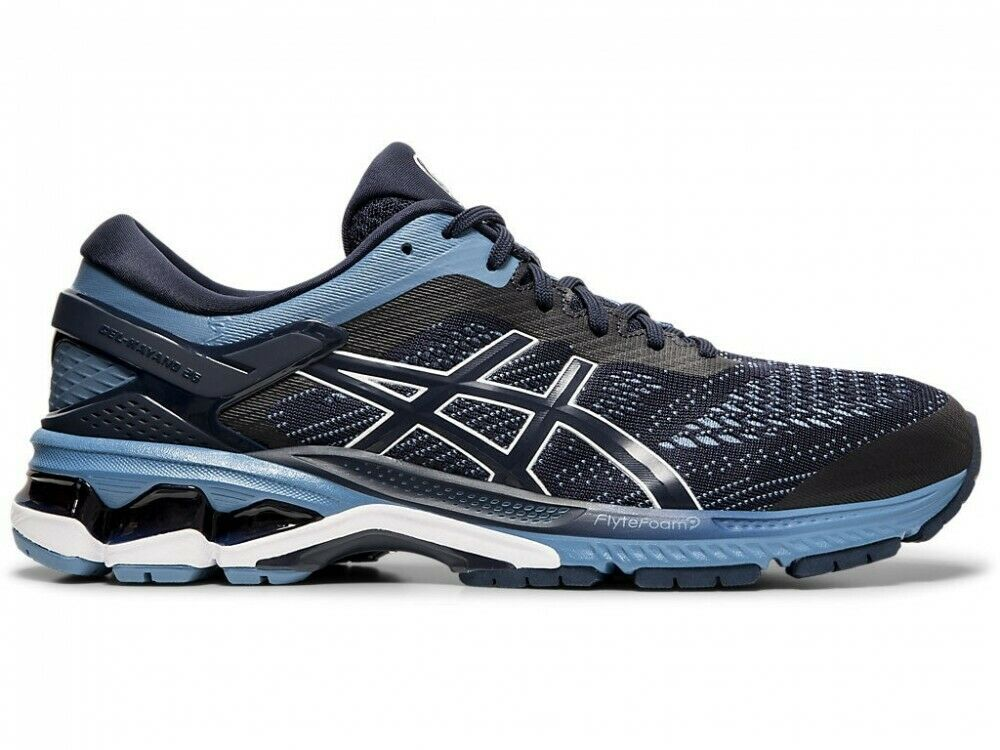 ASICS Zapatillas GEL-KAYANO 26 1011A541 Medianoche gris Hilo Dental