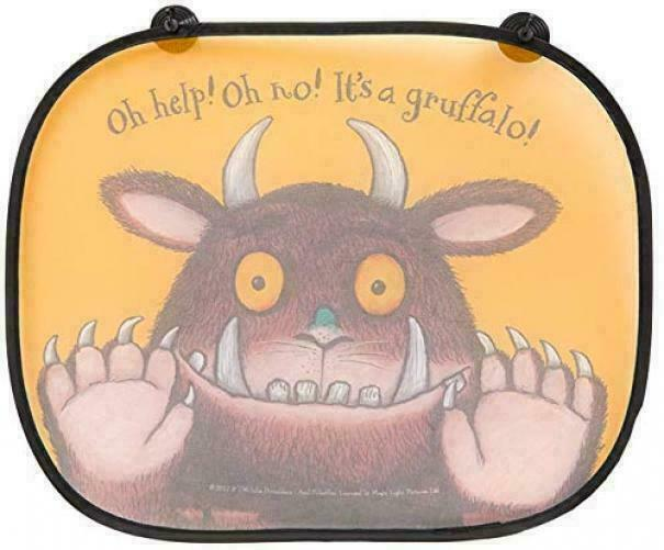 Official Licensed The Gruffalo Folding Window Sunshades Pack of 2
