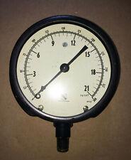 Vintage New Old Stock Ashcroft 1010 Gauge 0 21 Kg 0 300 Psi 4 12 Display