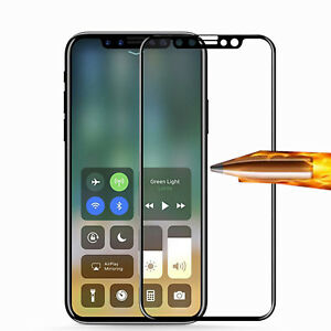 FULL-SIZE-COVERAGE-EDGE-FIT-TEMPERED-GLASS-SCREEN-PROTECTOR-FOR-IPHONE-X-XS