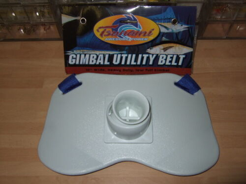 BOAT ROD SEA FISHING FIGHT BELT NEW LARGE SWIVEL BUTT PAD