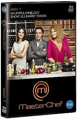 MasterChef. Sezon 1 (DVD) - POLISH RELEASE - NEW - SEALED