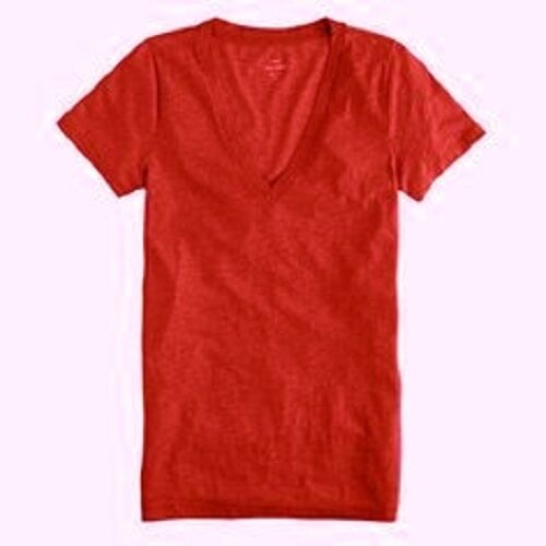 J.Crew Womens Vintage Cotton V-Neck Tee Slub Knit Top T-Shirt Sizes XXS-XL  New