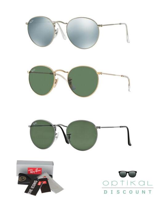 RAY BAN RB 3447 Round metal occhiali da sole tondi round sunglasses sonnenbrille