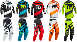 2018 Fly Racing F-16 Adult Jersey & Pant Riding Gear Combo Set Mx Atv Dirt Bike