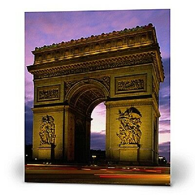 ARC DE TRIOMPHE MURAL STANDEE * Paris theme party decor * photo opp. *