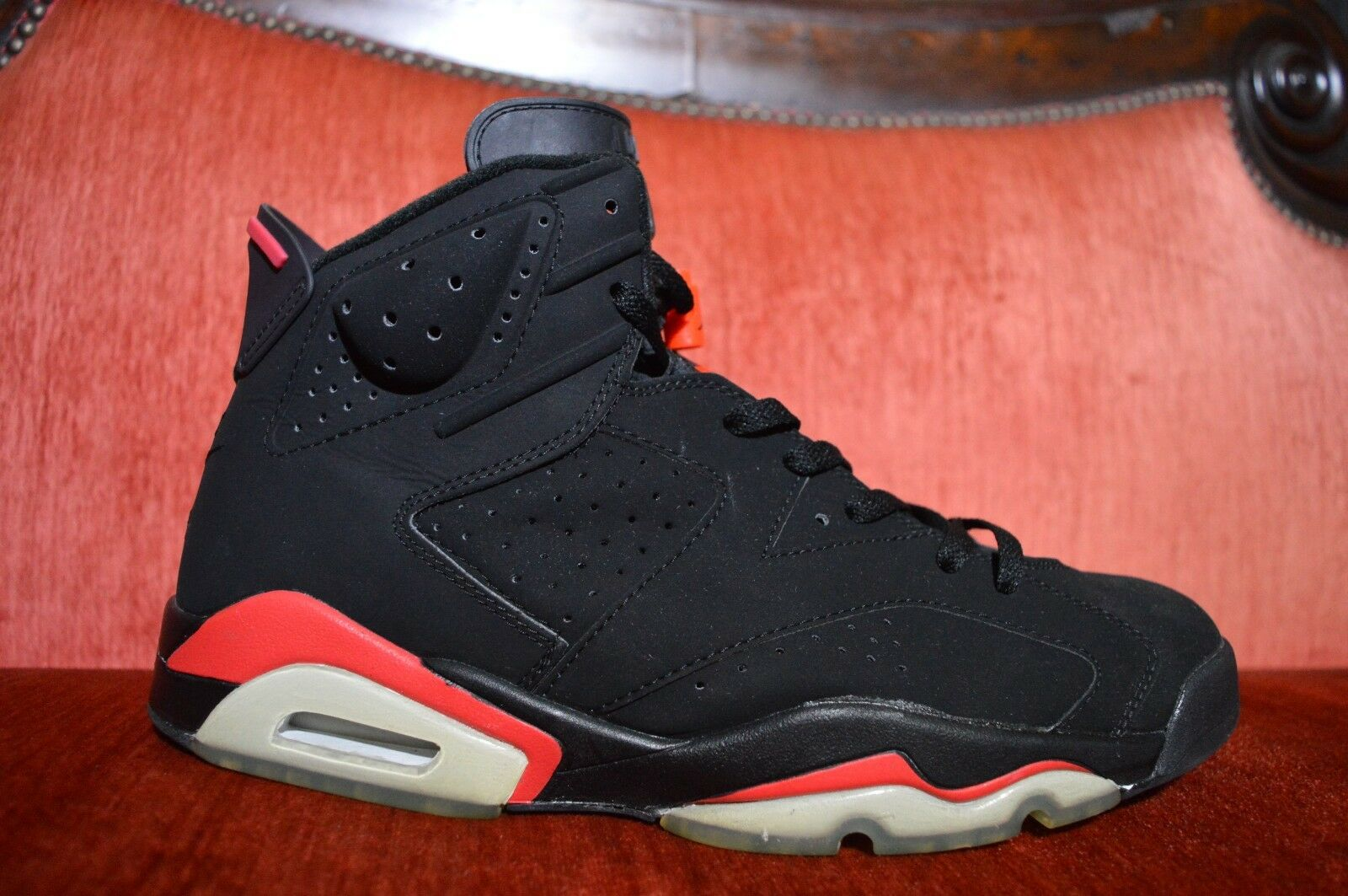2018 Nike Air Jordan VI 6 Retro + BLACK DEEP INFRARED RED BRED 136038-061 12 Great discount