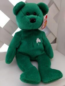 b0adc27f77f TY Beanie Baby ~ ERIN St. Patrick s Day Irish Bear ~ NWT Retired ...