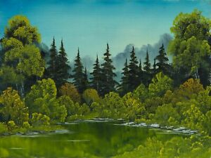 Meadow-Lake-Signed-Original-Painting-Contemporary-Art