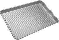 Usa Pan Bakeware Aluminized Steel Half Sheet Pan 18 X 13 Inch, New, Free Shippin on sale