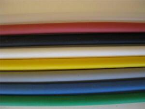 "(4' Feet) 1/8"" inch ID Heat Shrink Tubing 2:1 Ratio Polyolefin COLORS Made USA"