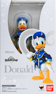S.H Figuarts Donald Duck Kingdom Hearts Action Figure USA Disney Bandai Figure