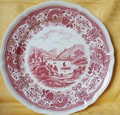 Platte Große Teller Villeroy /& Boch BURGENLAND  in Rosa Ø 27 cm