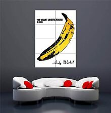 VELVET UNDERGROUND BANANA ANDY WARHOL NEW GIANT WALL ART PRINT POSTER OZ986