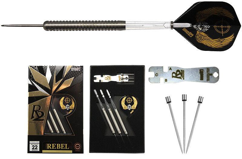 Darts one80 R2 Rebel Steeldarts - Dart Set