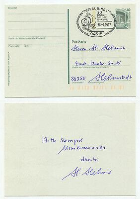 08559 - Sst: 50 Jahre Mädchenrealschule Der Ursulinen, Straubing 25.7.1997 Kaufen Sie Immer Gut