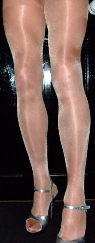 Rose Gold 40 Denier High Quality One Size Fabulous Shimmer Effect Tights