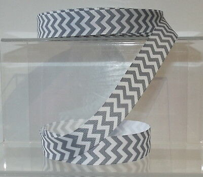 22mm wide Chevron Ribbon 2 Metres