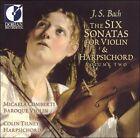 J.S. Bach: The Six Sonatas for Violin & Harpsichord, Vol. 2 (CD, Dorian)