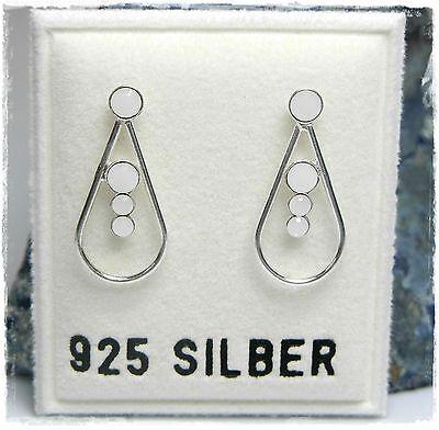 Uhren & Schmuck Neu 925 Silber Ohrstecker 2mm/3mm Swarovski Steine White Alabaster/weiß Ohrringe
