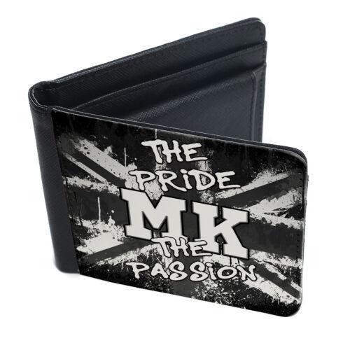 CALCIO Wallet Bi Piega Portamonete Porta carte di credito Pride /& Passion tutte le squadre