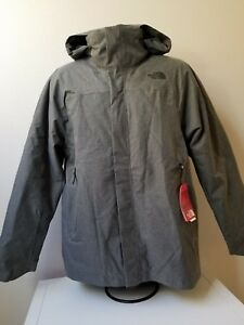 Details about NWT THE NORTH FACE MENS THERMOBALL TRENCH JACKET GREY WATERPROOF