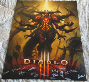 Blizzcon-2011-Official-Diablo-III-3-Signed-Poster