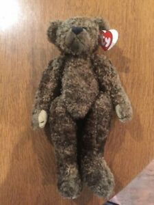 Ty Beanie Baby Bear Tyrone pre-owned Jointed bear