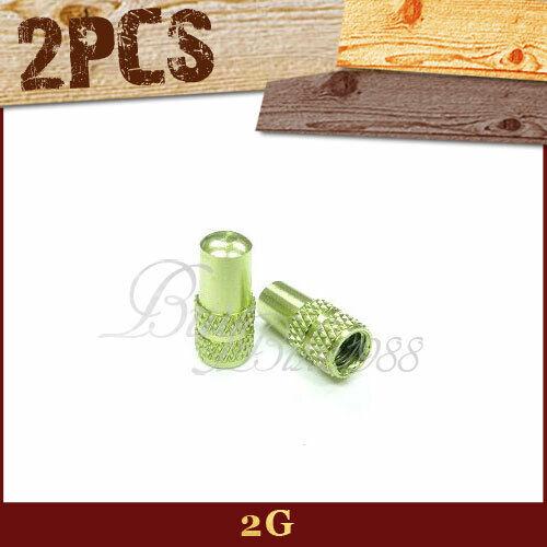 4pcs APPLE GREEN  COLOR  Aluminum Presta Valve Cap Anodized Machined BIKE