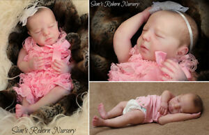 "20/"" Reborn Doll Parts Kit Realborn® Brittany Sleeping"