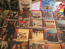 ROLLING STONES OBI REPLICA JAPAN COMPLETE 6 Box Sets W/ SINGLES & RARE PROMO BOX